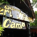 The entrance to Nazri nipah Camp