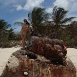 """This is one of the Army Tanks that are on Flamenco Beach. They remain there as part of the """"sigh"""