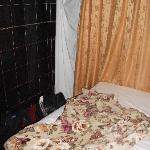 Bedsheet for a Curtain