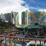 Genting Hotel. 3000++ room capacity with an amusement park within and around