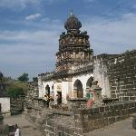 The Vishnu & Ganesh Mandir on the top of the hill (village side)