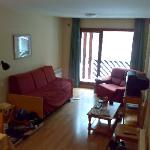 Sant Roma - 1-bed apartment, lounge area.
