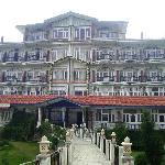 Snow Hermitage resorts in its imposing glory