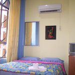 A/C Double Room - Sharing Bathroom