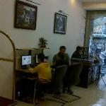 Free internet access at Lobby