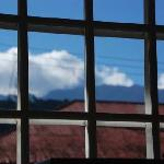  Living room window - view of mountains