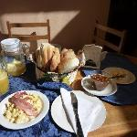 Tailor made breakfast by Luciana