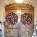 The front door