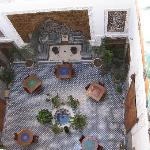 The Courtyard from above