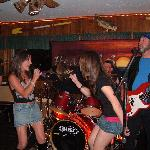 "The band "" Headin' South "" Saturday night at Slicker's ! Wonderful music !"