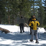 Snowshoeing