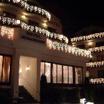 Christmas Lights at Hotel Jenbacherhof