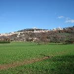  Sight of Assisi from the Tre Nodi Country House