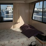 Bedroom in the Houseboat