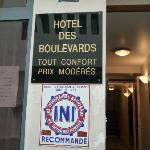Photo de Hotel Des Boulevards