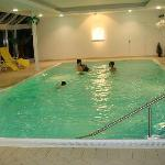 heating swimming pool