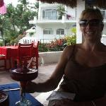  At the &quot;El Paraiso&quot; restaurant at Dolphin Cove Resort/Inn