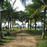 Path to bungalows