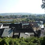 View of Trier from near the Stadwald Hotel