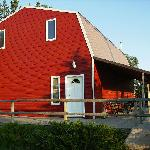  another view of the red barn