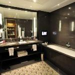Bathroom with Bathtub TV