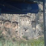 Carian rock tombs