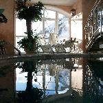 Part of the indoor pool