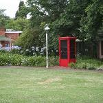 Old phonebooth on the grounds