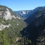  10 minutes max by car and you are here, entering Yosemite Valley