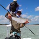 BIG BONEFISH: what you go for... it's all smiles, my friend.