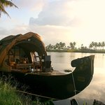 Traditional type Kerala Houseboat