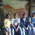  yap ancestral house.... old painting of colon st.