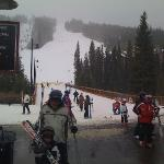 Main ski run at Keystone