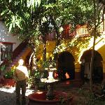 Real de Minas courtyard