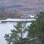 View of Portree from Otterburn car park