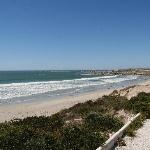Paternoster beach towards the village
