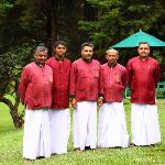 golf club Staff - Newara eliay - Sri Lanka