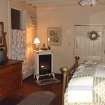  the bedroom in the cottage