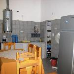  Cocina del hostel