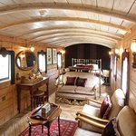 Coverted Railway Carriage at the Railway Inn