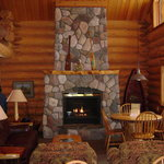 Eagle Nest fire place