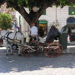Taxi in Messina, Sizilien, Italien