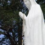 The Marian statue on Mount Tapao