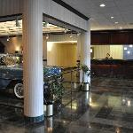 Lobby with Classic Car