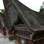 These are traditional Batak tombs