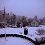  Snowy garden at lindeth fell