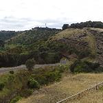 Tower Hill: the view from the crater rim lookout off the Princes HWY (A1)