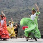 Flamenco in February at Sacromonte, a short walk fro