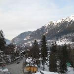 Hotel Mozart, Bad Gastein - view from room balcony