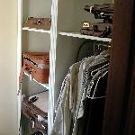 Ample Walk-in Closet area